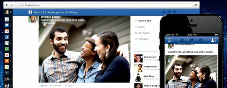 Facebook apresenta novo layout